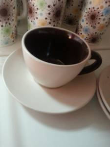 02300 Cup With Saucer