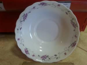 85736 Designed Porcelain Plate