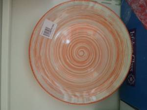 87362  Porcelain Coloured Plate