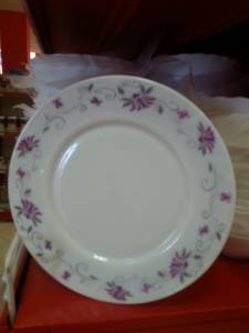 87928 Porcelain Ceramic Plate