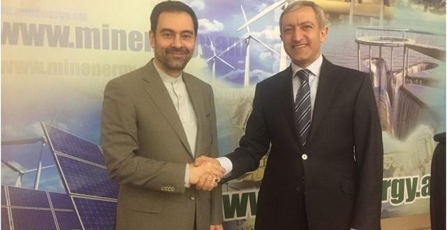 دیدار سفیر ایران با وزیر انرژی ارمنستان