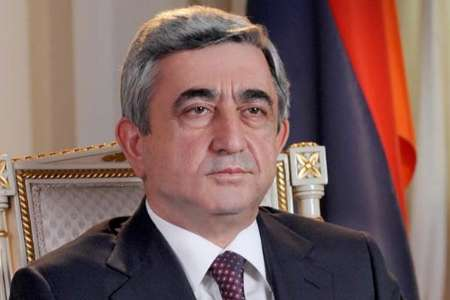 رئیس جمهوری ارمنستان: با همکاری ایران ساختار تامین برق را ارتقا می دهیم