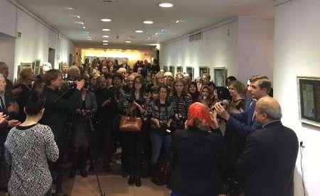 نمایشگاه ایران زمین در مینسک برپا شد