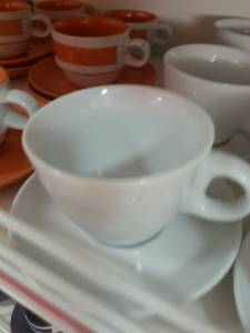 29381 Ceramic Cup With Plate